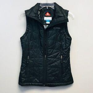 Columbia | Black Omni Heat Quilted Vest XS